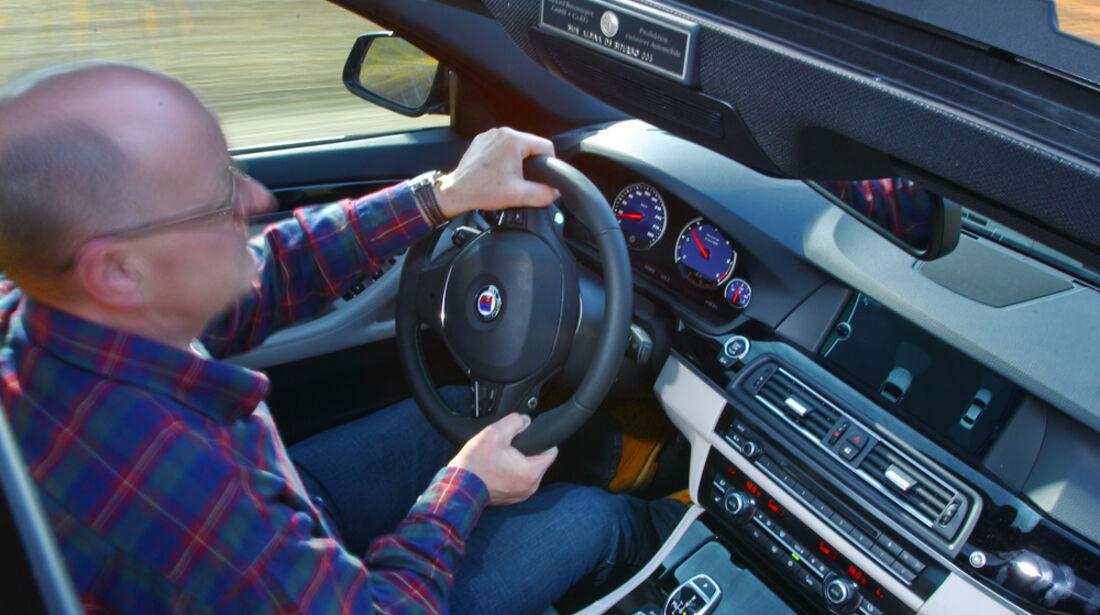 BMW Alpina D5, Cockpit, Fahrersitz