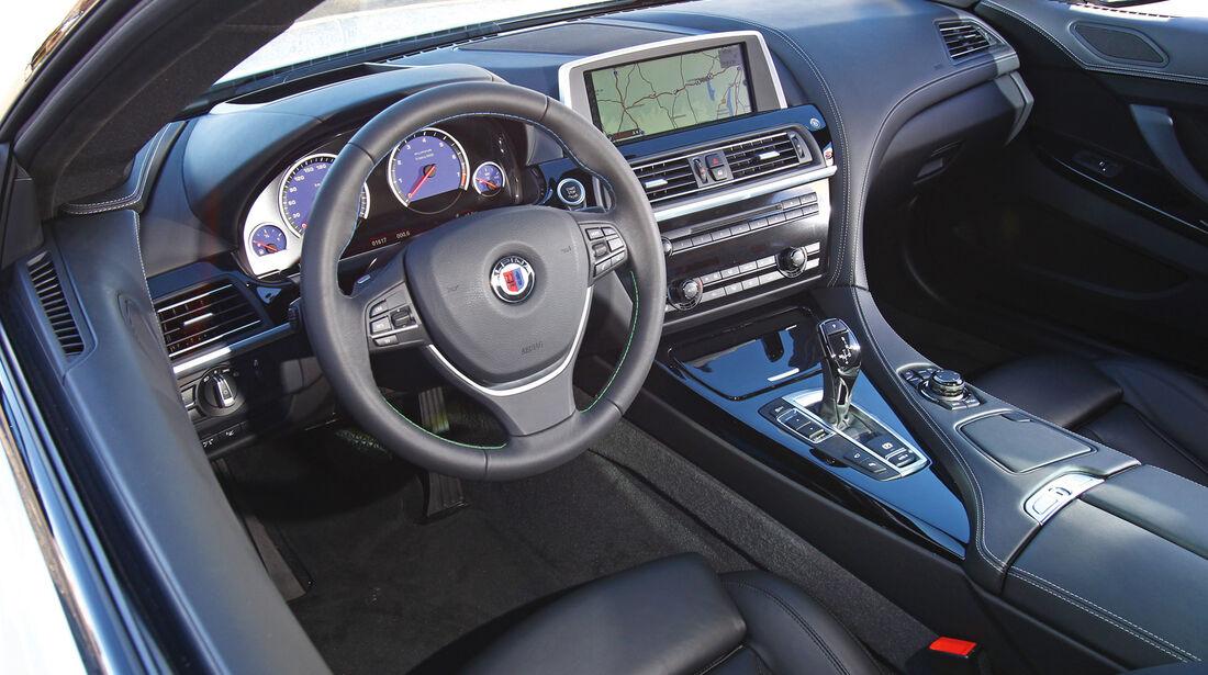 BMW Alpina D5, Cockpit