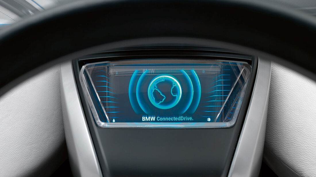 BMW-Bildschirm