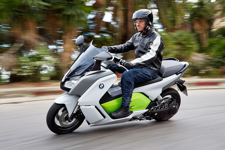 BMW C Evolution Elektroroller