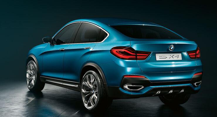 BMW X4 auf der Shanghai Auto Show: Erster Ausblick auf das SUV-Coupé ...