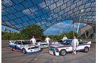BMW DTM-M3,BMW 3.0 CSL, Surer, Hessel, Tomczyk