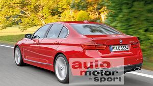 BMW Dreier, Heckansicht
