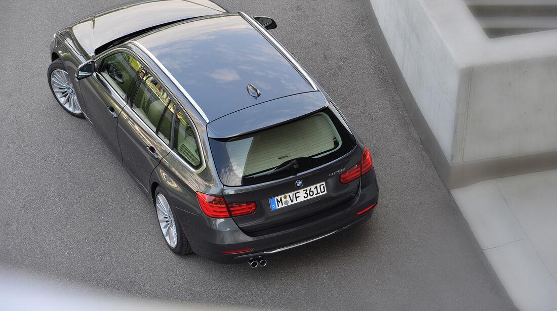 BMW Dreier Touring, Draufsicht