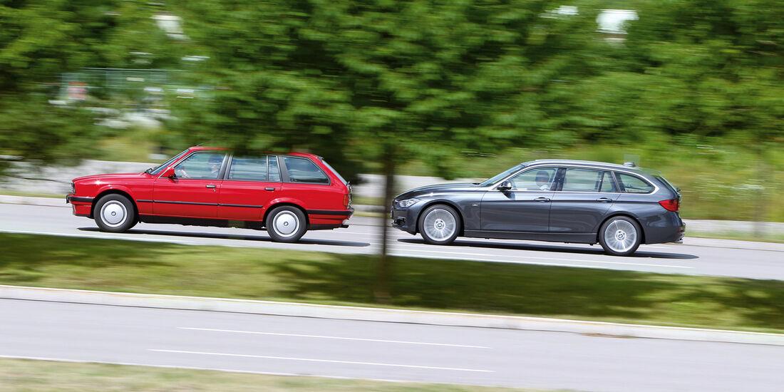 BMW Dreier Touring, Seitenansicht