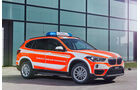 BMW Einsatzfahrzeuge Messe RETTmobil 2017