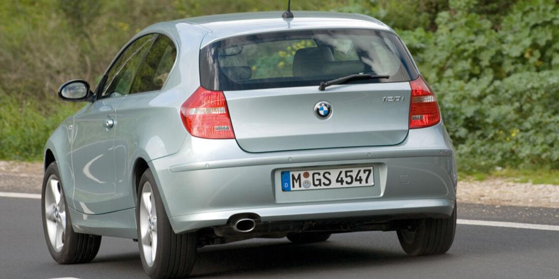 BMW Einser, Heck