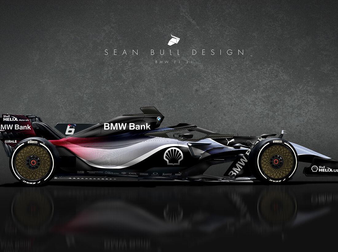 formel 1 concepts für 2021: f1-autos von audi, bmw & co
