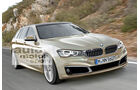 BMW Fünfer Touring, Frontansicht