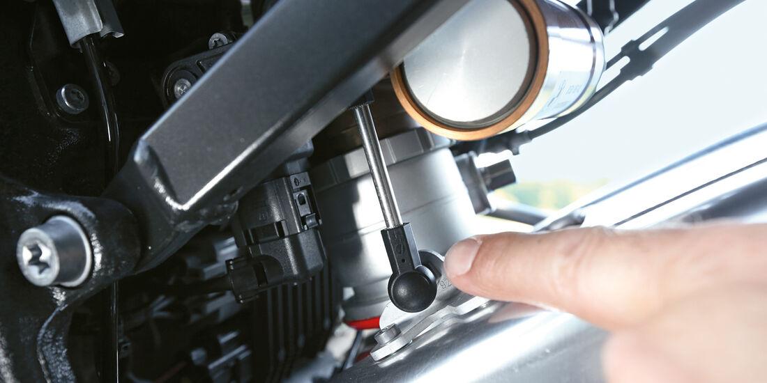 BMW HP4, Technik, Detail