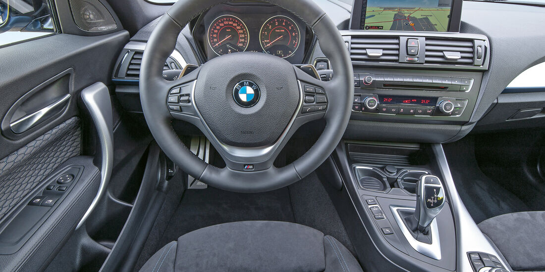 BMW M 135i, Cockpit, Lenkrad