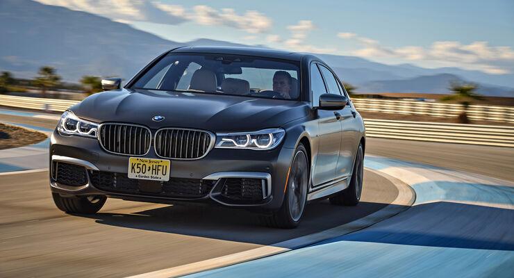 BMW M760Li XDrive Fahrbericht Der Schnellste Serien