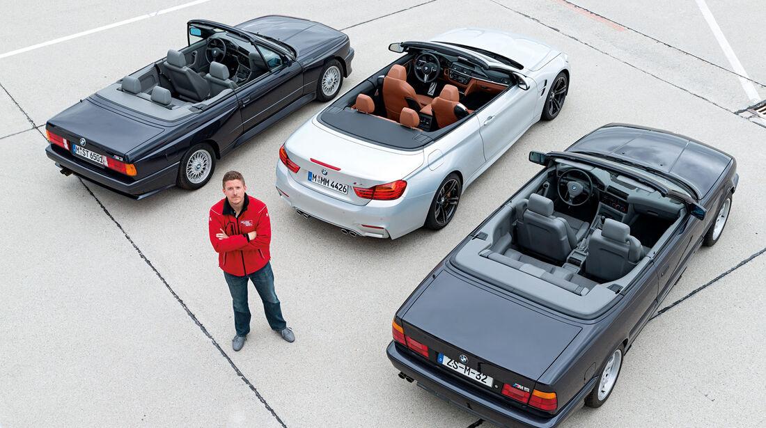 BMW M-Cabrio, Modellvarianten, Generationen
