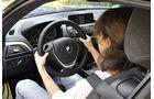 BMW M135i, Innenraum-Check, Sitzposition