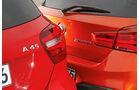 BMW M135i, Mercedes-AMG A45 4Matic, Typenbezeichnung