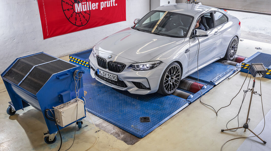 BMW M2 Competition, Messungen
