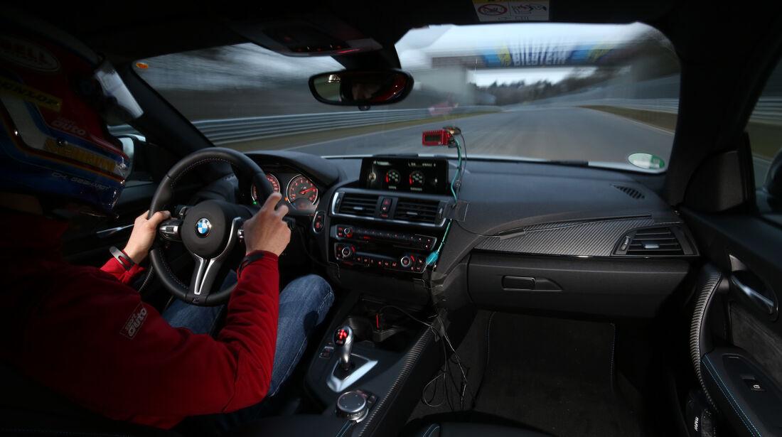 BMW M2 Coupé, Cockpit, Fahrersicht