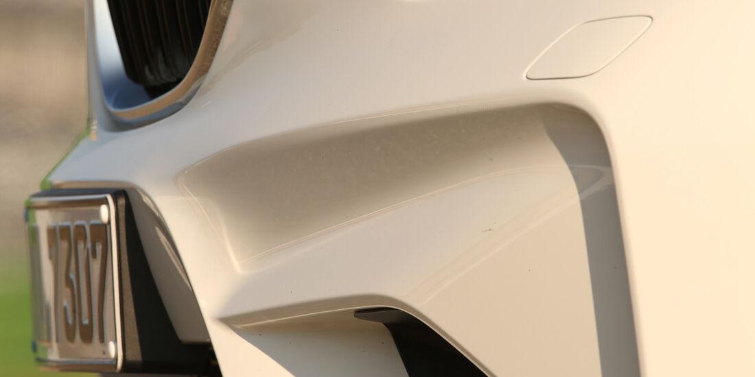 BMW M2 Coupé, Frontschürze
