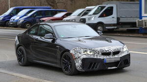 BMW M2 Facelift Erlkönig