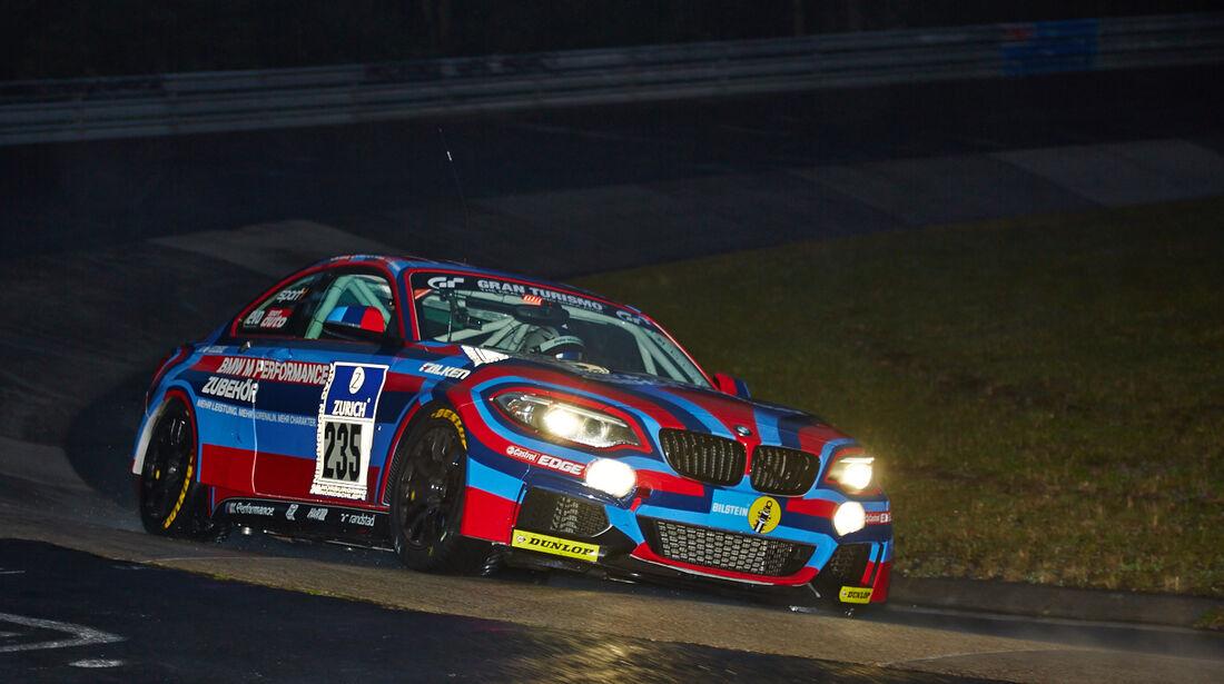 BMW M235i - #235 - 24h-Rennen Nürburgring 2014 - Qualifikation 1