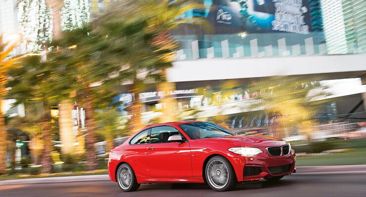 BMW M235i Coupé, Seitenansicht