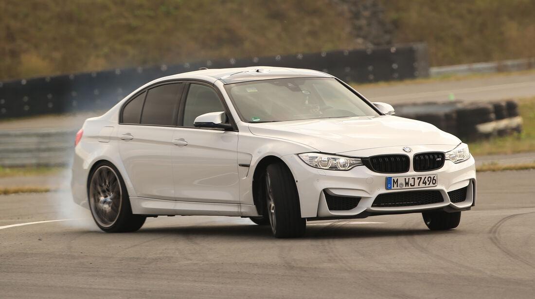 BMW M3 Competition, Driften