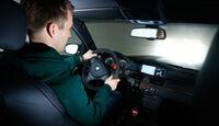 BMW M3 Coupé  E92, Cockpit, Fahrersicht