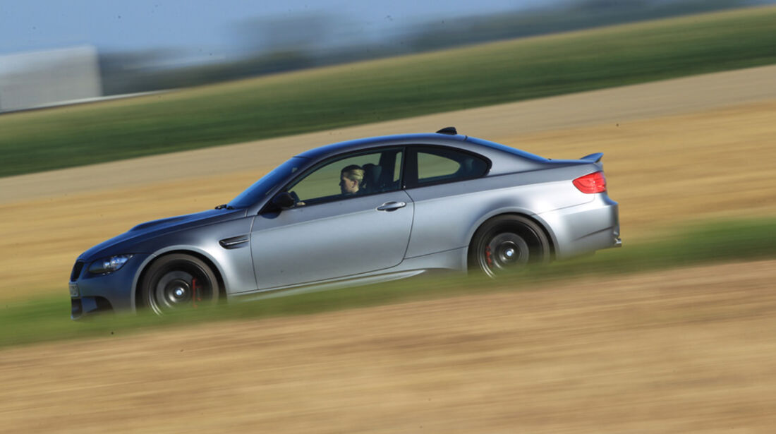 BMW M3 Coupe Competition, Seitenansicht