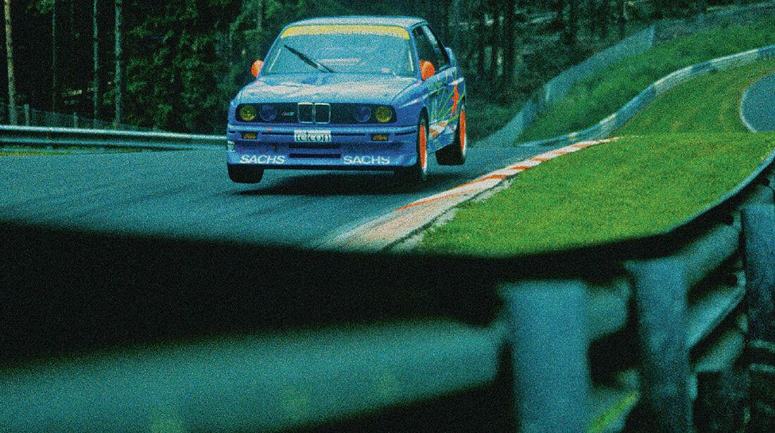 BMW M3, E30, DTM, Sprung, Nürburgring, Nordschleife