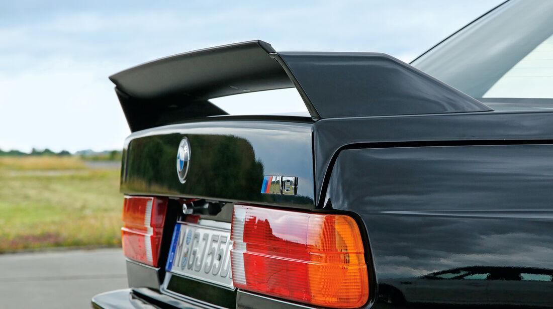 BMW M3 Evolution, Heckspoiler