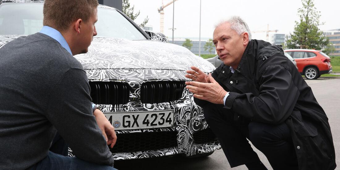 BMW M3/M4, Technik, Kühlergrill