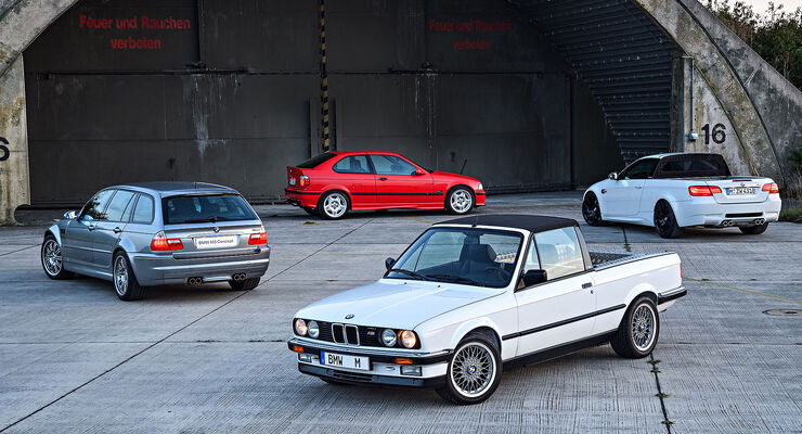 BMW M3 Sondermodelle Pickup, Touring Compact