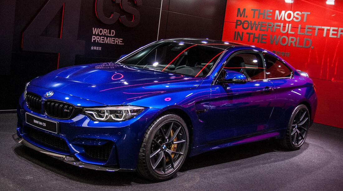 BMW M4 CS Shanghai Auto Show 2017
