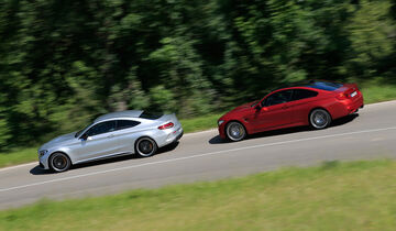 BMW M4 Competition, Mercedes-AMG C63 S Coupé
