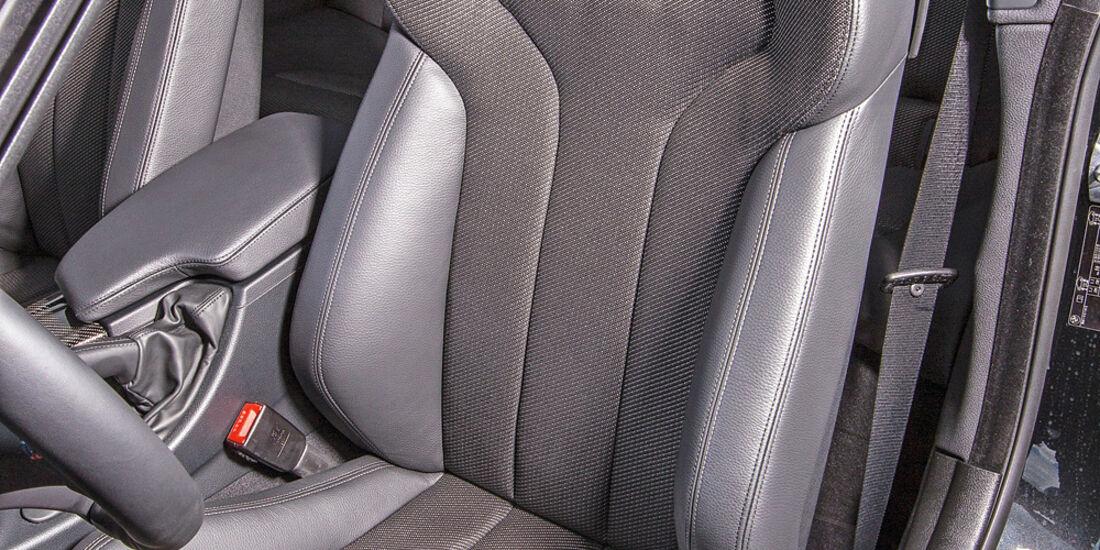 BMW M4, Fahrersitz