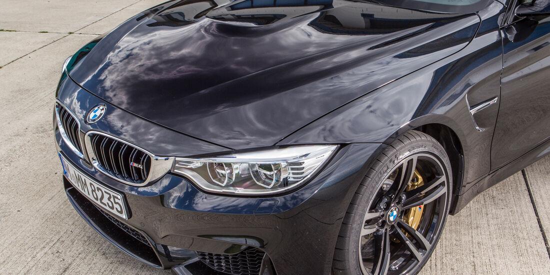 BMW M4, Frontpartie