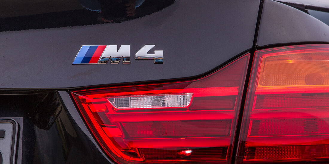 BMW M4, Heckleuchte