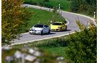 BMW M4, Porsche 911 Carrera S, Frontansicht