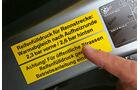 """BMW M5 """"30 Jahre M5"""", Hinweis"""