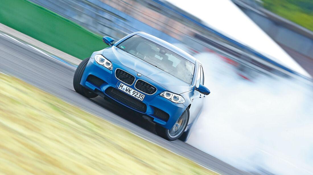 BMW M5 Competition, Supertest, Vorschau