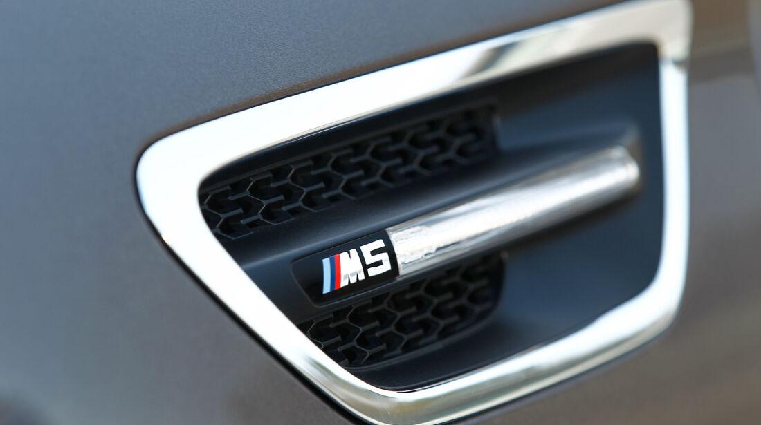 BMW M5, Emblem, Luft