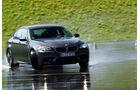 BMW M5, Frontansicht, Nasshandling