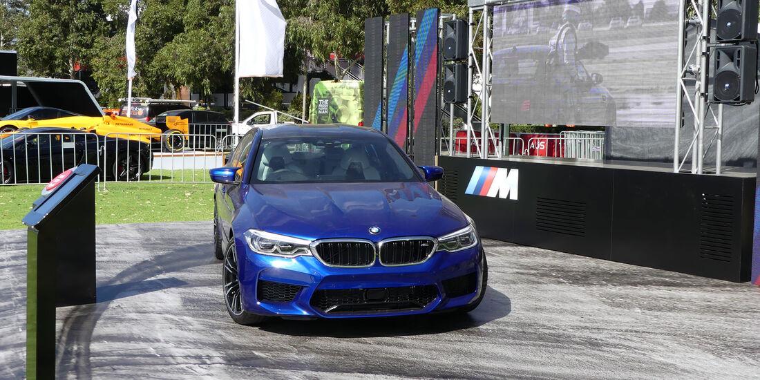BMW M5 - GP Australien 2018 - Melbourne - Albert Park - Mittwoch - 21.3.2018