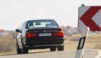 BMW M5, Heck