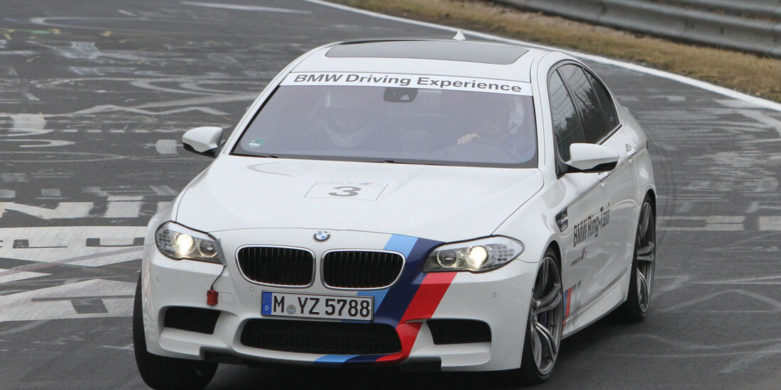 BMW M5 Ring-Taxi 2012