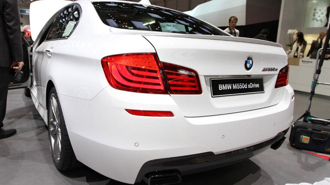 BMW M550d Auto-Salon Genf 2012