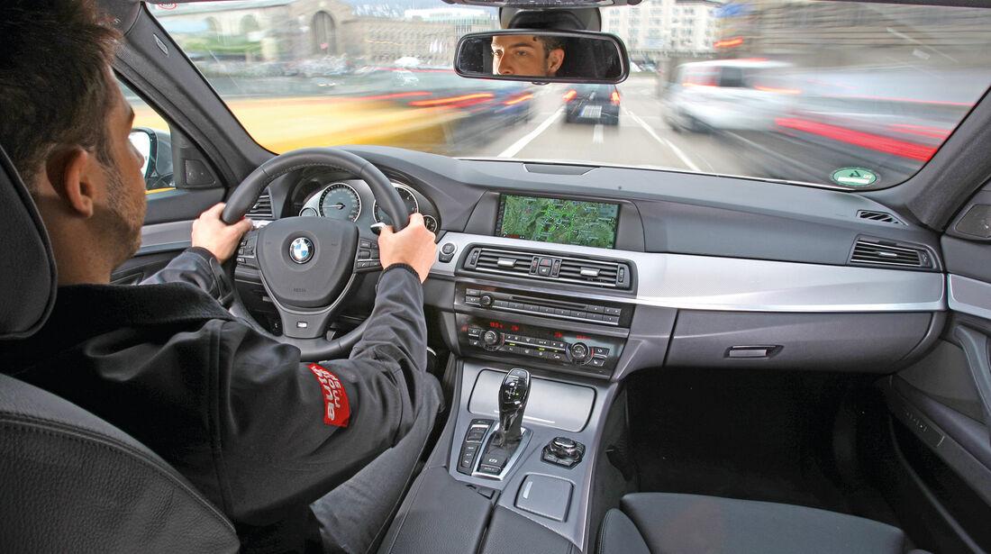 BMW M550d x-Drive, Cockpit