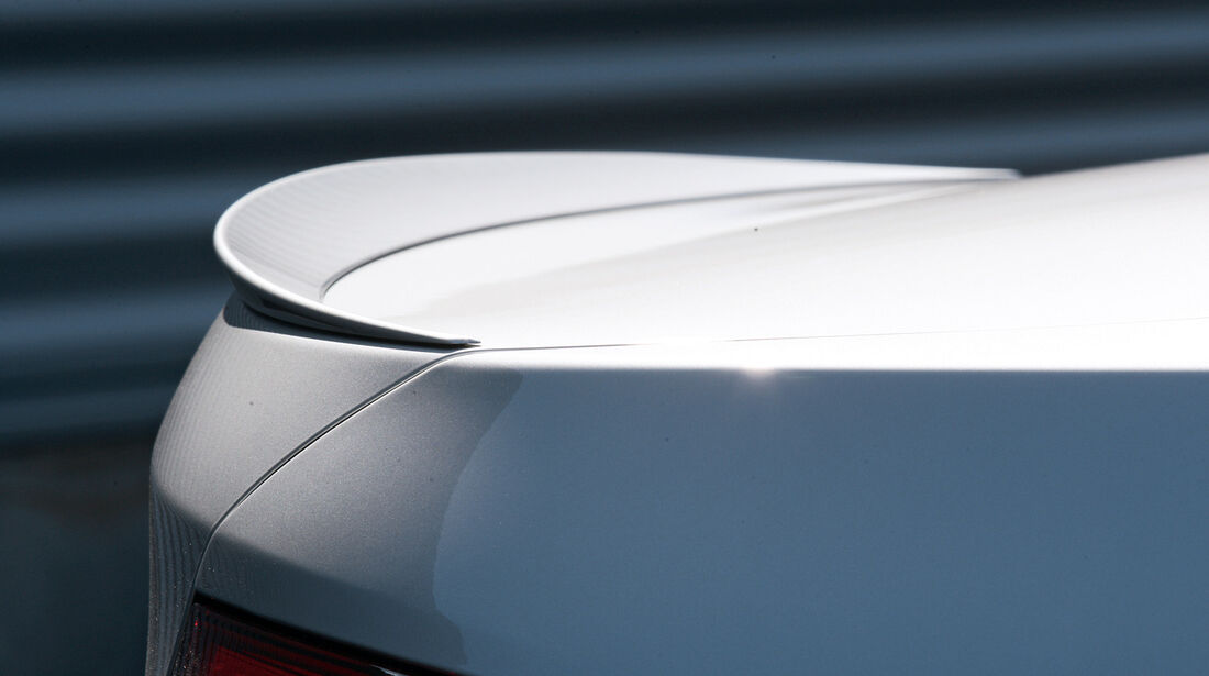 BMW M550d x-Drive, Heckspoiler