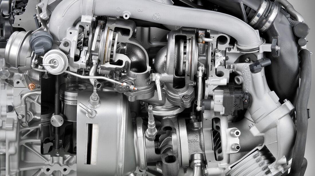 BMW M550d x-Drive, Motor