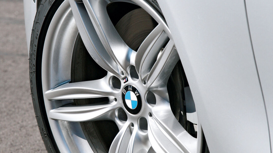 BMW M550d x-Drive, Rad, Felge